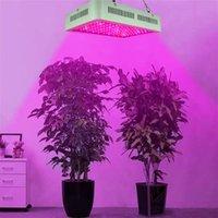 Yeni Tasarım 600 W Çift Cips 380-730nm Tam Işık Spektrum LED Bitki Büyüme Lambası Beyaz Premium Malzeme Işıkları Büyümek