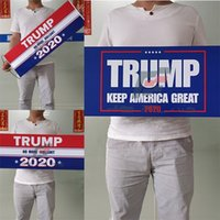 ترامب اليد أعلام عقدت عام 2020 أنصار USA الانتخابات العامة افتات 24X70CM إبقاء أمريكا العلم العظمى الشخصية 5fs F2