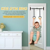Indoor Children' s Sports Fitness Rings Home Fitness Tra...