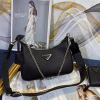 2021 Luxurys 디자인 가방 6 색 가죽 크로스 곡물 숄더백 크로스 바디 겨드랑이 가방