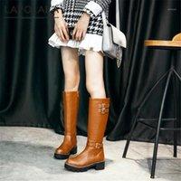 Çizmeler Lapolaka Tasarım 2021 Platformu Muhtasar Zarif Kadın Ayakkabı Skidproof Comfy Ins En Kaliteli Dropship Boot Ladies1
