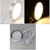 LED-Lampe Caravan Beleuchtung Werkzeuge Mode Einfachheit Frau Mann Glühen Innenschrank Licht Runde Dekoration 6 5CH K2