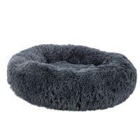 [HOBBYZOO] Pet Dog Cat Успокаивающий Кровать Теплый мягкий плюш Круглый Navy Подходит для 10кг или ниже домашних животных.