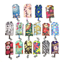 Sacos de compras dobráveis do nylon de Nylon de Nylon de Nylon Reusável Sacos de compras dos sacos de compras novos dos sacos de armazenamento das senhoras