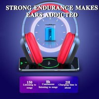 T5 HiFi Active Noise Cancelling Wireless Headphones Collapsi...