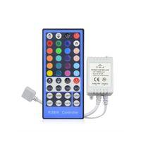 2,4G 4 канала DC12V - 24V LED RGBW Controller Dimmer 40 ключей дистанционного управления для RGBW RGBWW 5050 SMD светодиодный свет