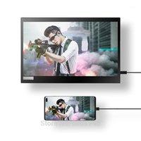 شاشات DEX 13.3 بوصة 1080P HDR Ten Point Touch Portable Mobile Power Bank Monitor1