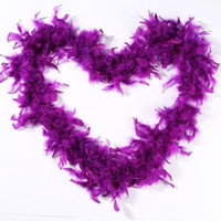 Pink Chandelle Feather Boa 200cm/pcs Wrap Burlesque Can Can Saloon Sexy Costume Accessory Turkey Marabou Feather Boa Many Colors