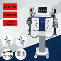 Yeni 2 Kolları Cryolipolysis Yağ Donma Makinesi Vücut Zayıflama Makinesi Kilo Kaybı Kriyoterapi Yağ Dondurucu Kliniği