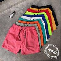 19 Sommer Herren Flat Shorts Candy Capris Jugend Ten Farbe Schnelltrocknung Strandhosen
