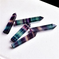 Kristaller Kule Kuvars Puanlar Doğal Florit Gökkuşağı Renk Şerit Noktası Reiki Kristal Dikilitaş Değnek Şifa Çakra Taş Ev Dekor