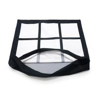 40 * 40cm Blank Sublimation Kopfkissenbezug Thermal Flannelette Kissenkissenbezüge Neun Boxen Grids Pillowcase mitrein Wärmedruck F102003