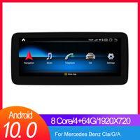 "Android Car Gps Navigation Radio Player per Mercedes Benz A G Classe G W176 / Class class W117 / Gla X156 Auto Navigation 10.25 ""Careplay integrato"
