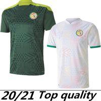 20 21 Senegal Soccer Jersey 2020 2021 Senegal Home Away Balde Koulibaly Mane Football Team Jerseys Camisa de fútbol S-XXL