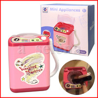 Mini Washer Electric Makeup Brush Washing Machine Portable A...