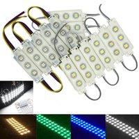 Beyaz Modülleri SMD led 5050 Mağaza Ön Cam Işık İşaret Lambası Enjeksiyon IP68 su geçirmez led şerit Arka Işık Noel Aydınlatma ışıkları