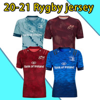 Leinster Rugby Jersey 2020 2021 Munster City Rugby Jerseys 20 21 Munster City Home Away Men Rugby-Trikots حجم S-5XL