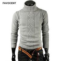 Favocent мужской свитер пуловер мужской мужской бренд случайные тонкие свитера мужские твердые сплошные отворотки жаккардовый хеджинг мужской свитер XXL 201017