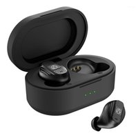 Cuffie Auricolari T20 Bluetooth wireless 5.0 con cassa di ricarica TWS Sport impermeabile1