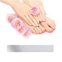 Professionnel Durable Nano Verre Tableau tampon à ongles de Verre de manucure inoffensifs Fichiers à ongles à ongles à ongles QYLCRX
