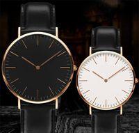 Bester Verkauf Luxus Herrenuhr 40mm Neue Frauen Mode Uhren 36mm Quarz Leder Nylon Strap Montre de luxe