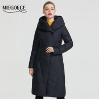 Miegofce Kış Uzun Modeli kadın Ceket Kaban Sıcak Moda Kadın Parkas Yüksek Kaliteli Biyo-Aşağı Kadın Ceket Yepyeni Tasarım 201006