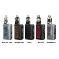 US Stock VOOPOO Drag 3 Kit ecigarette 177W Output Dual 18650 Batteries Mod 5.5ml TPP Pod Tank with DM1 DM2 Coil 100% Original