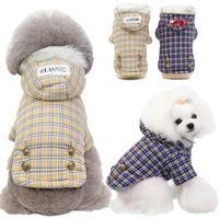 الشتاء الكلب الملابس الملابس سترة شعرية الحيوانات الأليفة الملابس الدافئة للكلاب الصغيرة ازياء طبقة دثار جرو سترة كلاب تشيواوا