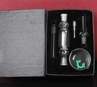 DHL 10mm NC Kitleri Mikro Mini Kitleri Paslanmaz Çelik Ucu Cam Kase Su Borusu için Küçük Petrol Kuleleri FY2413