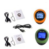 Auto-GPS-Zubehör 2-stücke Wiederaufladbare USB-Mini-Navigations-Empfänger Tracker-Logger Handheld-Standort Finder Tracking für Outdoor-Reise1