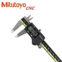 """ميتوتويو CNC الفرجار المطلق 500-196-20 الرقمية الفرجار الفولاذ المقاوم للصدأ بطارية تعمل بالطاقة بوصة / طن متري 6 """"المدى -0.001"""" أدوات يدوية"""