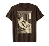 Samurai do programador - computador guerreiro - t-shirt do samurai do desenvolvedor
