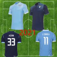 20 21 Lazio Fußball-Trikot JONY SS ACERBI 2020 2021 Fußballhemd LUIS ALBERTO camiseta IMMOBILE SERGEJ maillot J.CORREA Maglia da calcio