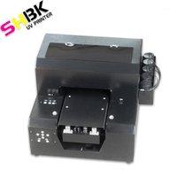 Multifunktions-A4UV-Drucker, Mobiltelefon-Shell-Foto-benutzerdefinierte Maschine, geprägter Effekt, weißer Tinten-flaches Material druckbare Maschine1