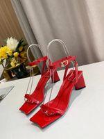 Mode Marke Schuhe Frau Sexy Dame Sandalen Dicke High Heels 6 cm Hausschuhe Zapatos de Mujer Sexy Dame Schuhe Vrouw Sandalen1