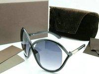 2020 Nuovi occhiali da sole rotondi Uomo Donna Eyewear Tom Fashion Designer Square Occhiali da sole UV400 FORD Lenti Trend Sunglasses TF211 5178 con scatola