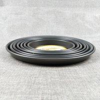 Molde para hornear, use una película de pizza de película dura profunda redonda 6to12 pulgadas aleación de aluminio horno pizza bandeja para hornear