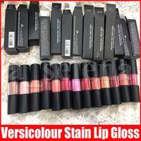 Lèvres Maquillage crème tache lipgloss mat imperméable durable brillant à lèvres versicolor Stain 12 couleurs liquides rouges à lèvres