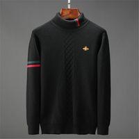 Gucci knitwear  Uomini 2020 moda Pullover Maglione Maschile O-Collo dolcevita Slim Fit a maglia Mens Maglioni Uomo Pullover Men