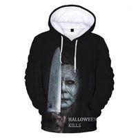 2020 Halloween 3D Print Hoodie Sweatshirts Michael Myers Harajuku Streetwear Hoodies Männer Frauen Herbst Lässige Übergroße Pullover1