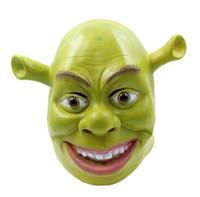Cadılar Bayramı Cosplay dekorasyon Shrek maskeleri Tatil karnaval İlginç parti kaliteli Lateks oyuncak Prop Cadılar Bayramı hediye 200.929 maske