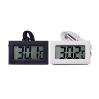 Neue Schwarz Weiß Digital Thermometer Kühlschrank Zer Temperaturmesser Home Wassertemperatur Tester Detektor Haushaltsprodukte Rbhtr