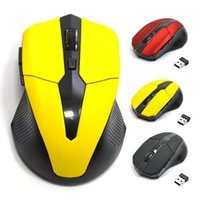 2.4G USB Red Optical Wireless Maus 5 Tasten für Computer Laptop Gaming Mice1