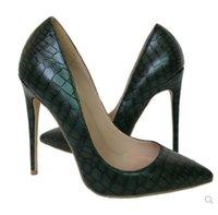 럭셔리 여성 망 브랜드 디자이너 펌프 클래식 드레스 신발 붉은 바닥 높은 발 뒤꿈치가 뾰족한 발가락 큰 크기 EURO34-45 특허 가죽 샌들 결혼식 높이 8cm 10cm 12cm