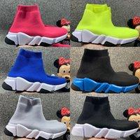 Младенческие дети молодежи мужские женщины бегущие детская обувь носок плоские кроссовки скорости бегуны спортивные туфли малыш мальчик девушка тренер обувь