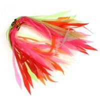 50 шт. Светящийся силиконовый стрикер для спиннербайта BUZZBAIT резиновый резиновый приманки кальмарки-юбки красный оранжевый зеленый розовый белый 201103