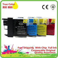 Replacement LC11 LC16 LC38 LC61 LC65 Ink Cartridges For - J51...