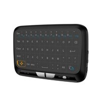 H18 Portable Mini Touchpad Keyboard Wireless Air Mouse for S...