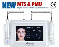 ArtMEX V8 7 pouces Maquillage de tatouage Machine à tatouage Corée Tatouage Pistolet de maquillage permanent Cartouche Eyebrou Eye-liner Lèvres Machine