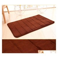 Top Selling 40x60cm Bath Mat Bathroom Bedroom Non-slip Mats Memory Foam Rug Shower Carpet For Bathroo sqcyyl wphome